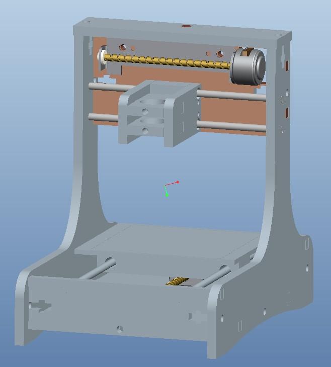 DIY微型激光雕刻机--续一